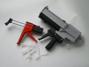 pistolet colle bi-composant